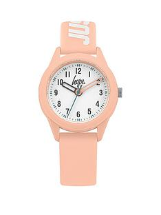 hype-hype-white-dial-baby-pink-and-white-just-hype-silicone-strap-kids-watch