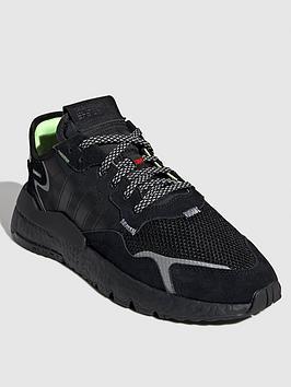 adidas Originals Adidas Originals Nite Jogger - Triple Black Picture