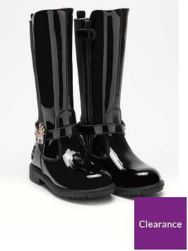lelli-kelly-girls-frances-unicorn-knee-boot-black-patent