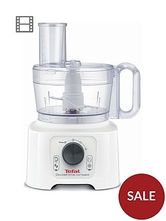 tefal-doubleforce-compact-do542140-multifunction-food-processor-800w