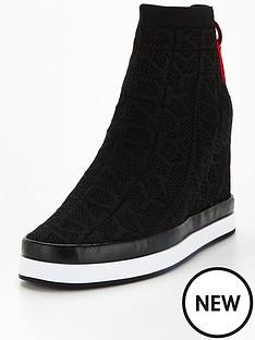 dkny-sawyer-logo-knit-hidden-wedge-trainers-black
