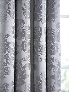 catherine-lansfield-damask-jacquard-eyelet-curtainsnbsp