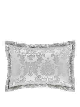 Catherine Lansfield Catherine Lansfield Damask Jacquard Pillow Sham Pair Picture