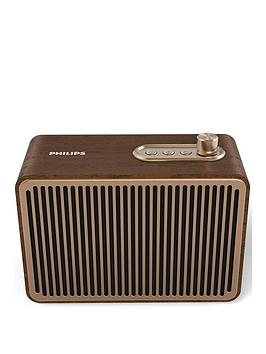 Philips Philips Retro Portable Bluetooth Speaker (10 Hours¿ Battery Life,  ... Picture