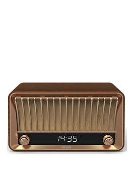 Philips   Bluetooth Dab+ Radio - Vintage Design