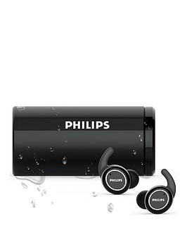 Philips Philips Actionfit Wireless Headphones With Uv Cleaning (Bluetooth,  ... Picture