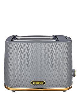 tower-empire-2-slice-textured-toaster-grey