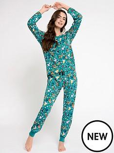 chelsea-peers-long-sleeved-jersey-pyjamas-multi