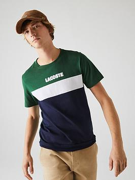 lacoste-sport-colour-block-logo-t-shirt-greennavy