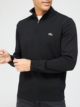 lacoste-half-zip-knit-jumper-blacknbsp
