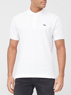 lacoste-plain-polo-with-croc-white