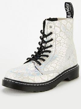 dr-martens-girls-1460nbsp8-lace-boots-silver-metallic