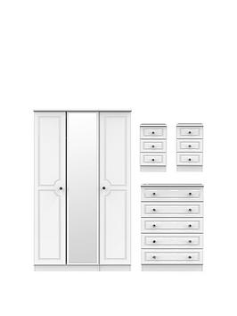 Swift Swift Clarence 4 Piece Part Assembled Package - 3 Door Mirrored  ... Picture