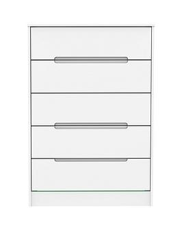 Swift Swift Toronto Ready Assembled Chest Of 5 Drawers Picture