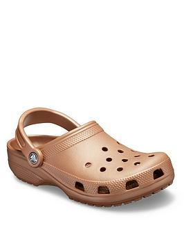 Crocs Crocs Classic Clog Uni Flat Shoe - Bronze Picture
