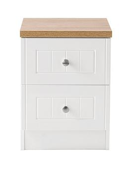 Swift Swift Swift Naples Ready Assembled 2 Drawer Beside Chest Picture