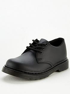 dr-martens-childrensnbsp1461-lace-up-shoes-black