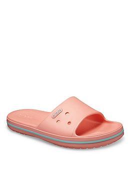 Crocs Crocs Crocband Iii Slide Flat Sandal - Pink Picture