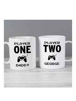Very Personalised Gamers Mug Set Picture