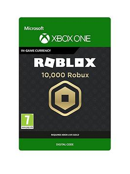 Xbox One Xbox One 10,000 Robux For Xbox - Digital Download Picture
