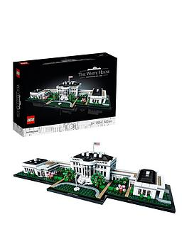 LEGO Architecture  Lego Architecture 21054 The White House Model Landmark Collection