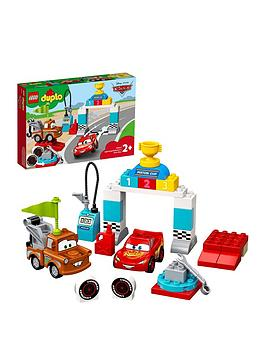 LEGO DUPLO Lego Duplo 10924 Cars Lightning Mcqueen'S Race Day 2In1  ... Picture