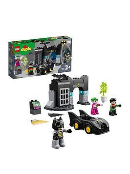 Lego Duplo 10919 Dc Super Heroes Batman Batcave And Batmobile