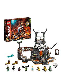Lego Ninjago 71722 Skull Sorcerer&Rsquo;S Dungeons 2In1 Build &Amp; Board Game
