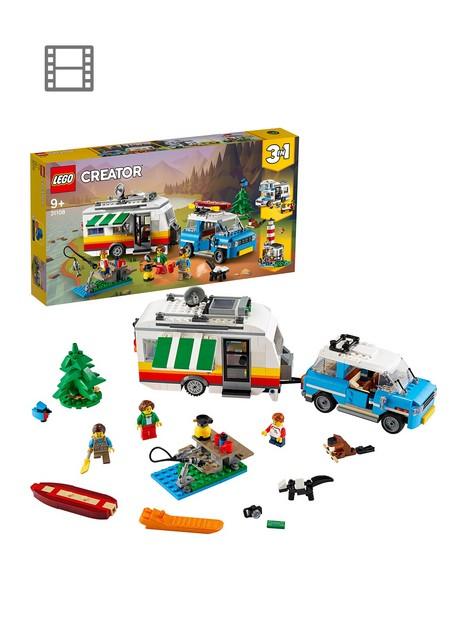 lego-creator-31108-3in1-caravan-family-holiday-car