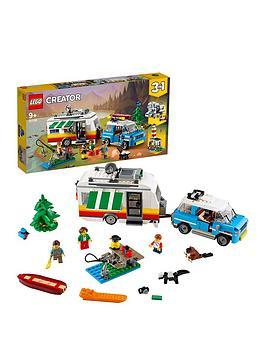 LEGO Creator Lego Creator 31108 3In1 Caravan Family Holiday Car Picture
