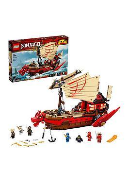 LEGO Ninjago Lego Ninjago 71705 Legacy Destiny'S Bounty Battle Ship Picture
