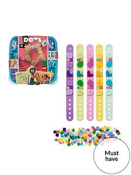 lego-dots-41913-bracelet-mega-pack-of-5-diy-art-and-crafts-jewellery