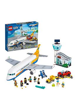 LEGO City Lego City 60262 Airport Passenger Airplane, Terminal &Amp; Truck Picture