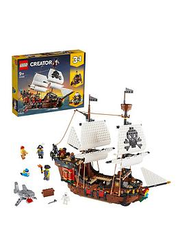 LEGO Creator Lego Creator 31109 3In1 Pirate Ship, Inn &Amp; Skull Island Picture