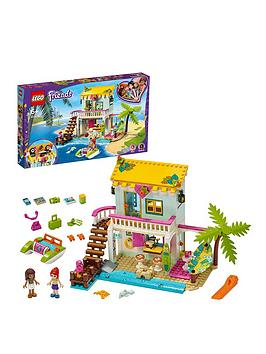 LEGO Friends Lego Friends 41428 Beach House Mini Dollhouse Holiday Series Picture