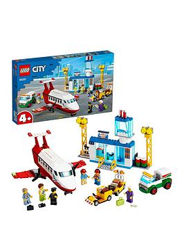 LEGO City Lego City 60261 Central Airport Passenger Plane, Fuel Truck  ... Picture