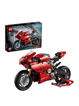 LEGO Dots Lego Dots 42107 Technic Ducati Panigale V4 R Motorbike Picture