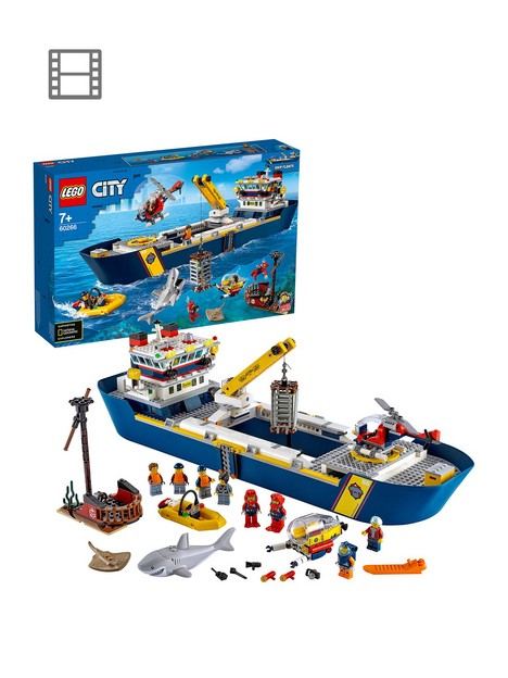 lego-city-60266-ocean-exploration-ship-floating-deep-sea-boat-model