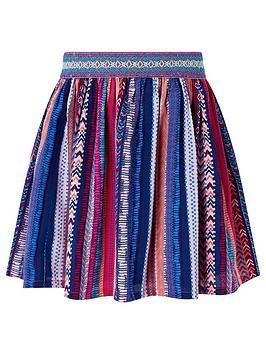 Monsoon Monsoon Girls S.E.W Sophie Printed Skirt - Multi Picture