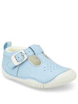 Start-Rite Start-Rite Boys Baby Jack T Bar Shoe - Blue Picture