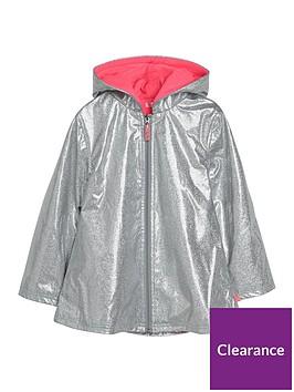 billieblush-girls-fleece-lined-glitter-raincoat-silver