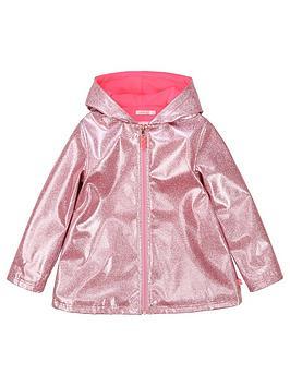 billieblush-girls-fleece-lined-glitter-raincoat-pink