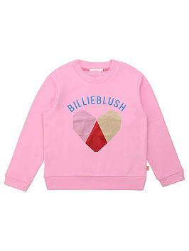 billieblush-girls-logo-crew-sweat-pink