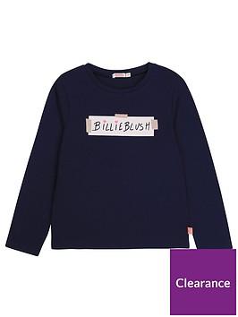 billieblush-girls-long-sleeve-logo-t-shirt-navy