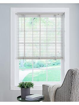 Very Wood Venetian Blind - Light Grey Picture