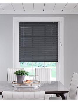 Very Aluminium Venetian Blind - Slate Grey Picture