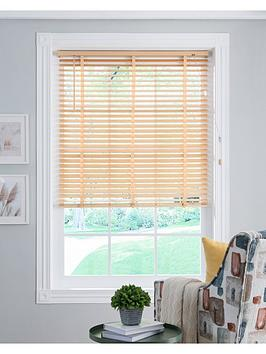 Very Wood 50Mm Venetian Blind - Natural Picture