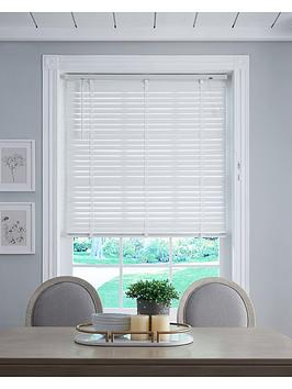 Very Wood 50Mm Venetian Blind - White Picture