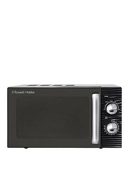 Russell Hobbs Russell Hobbs Rhm1731 Inspire Black Compact Manual Microwave Picture