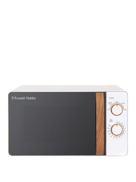russell-hobbs-rhmm713-scandi-compact-white-manual-microwave